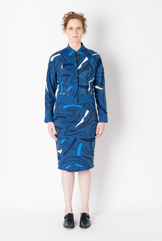 Alabama chanin embroidered bomber jacket 5