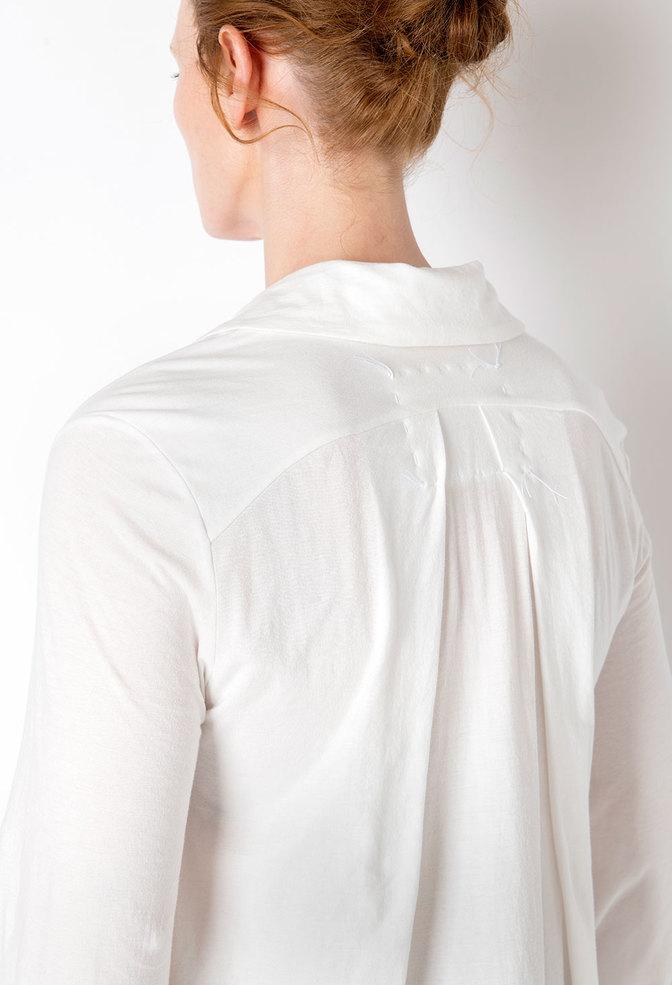 Alabama chanin flowy lightweight cotton tunic 3