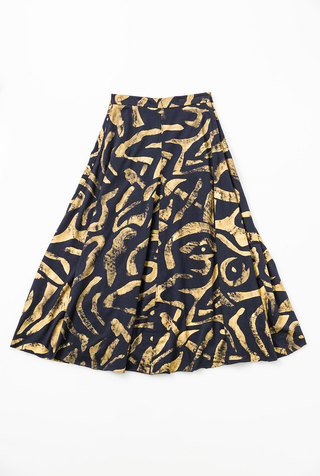 Alabama chanin abstract full skirt 1