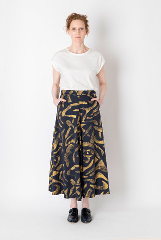 Alabama chanin abstract full skirt 4