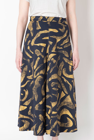 Alabama chanin abstract full skirt 5