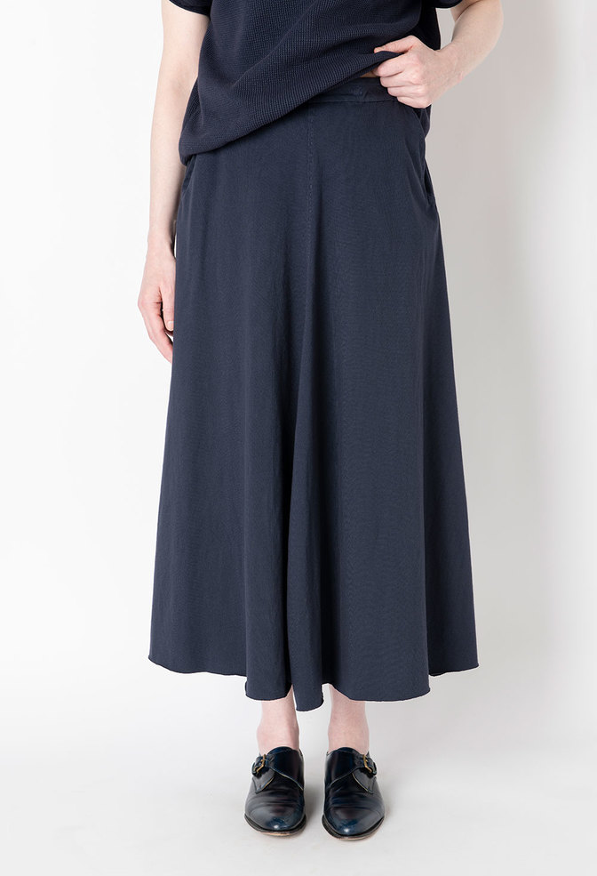 Elle pocket organic cotton alabama chanin skirt 1