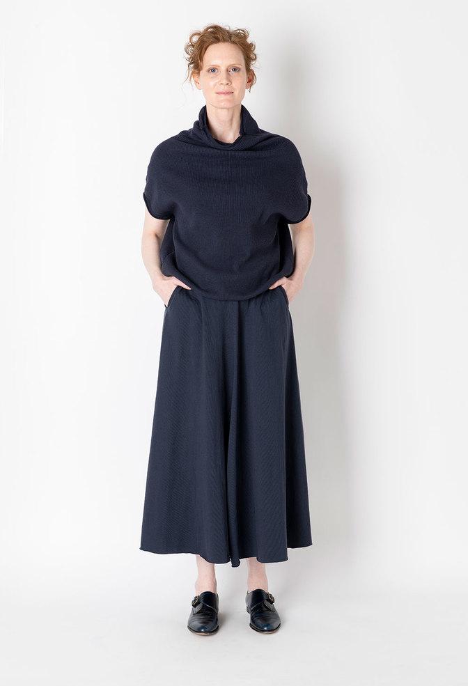 Elle pocket organic cotton alabama chanin skirt 2