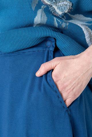 Elle pocket organic cotton alabama chanin skirt 3