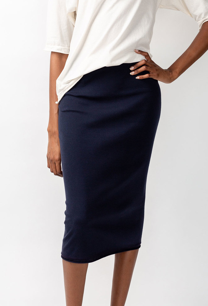 Alabama chanin rib pencil skirt 3