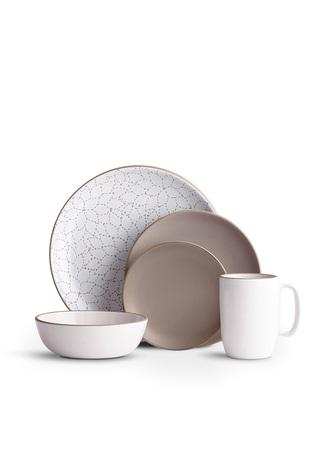 Camellia Cocoa Dinnerware Set