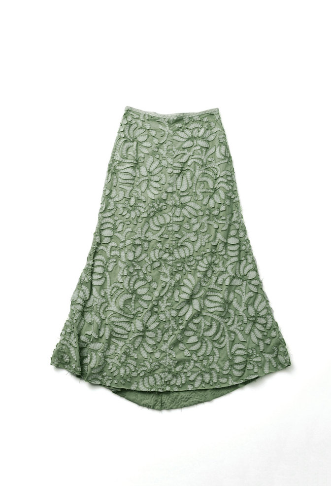 Long fitted skirt   annas garden   negative reverse   verdant   abraham rowe 4