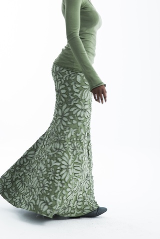 Long fitted skirt   annas garden   negative reverse   verdant   abraham rowe 3