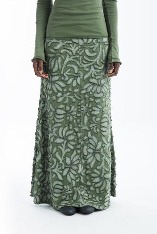 Long fitted skirt   annas garden   negative reverse   verdant   abraham rowe 2