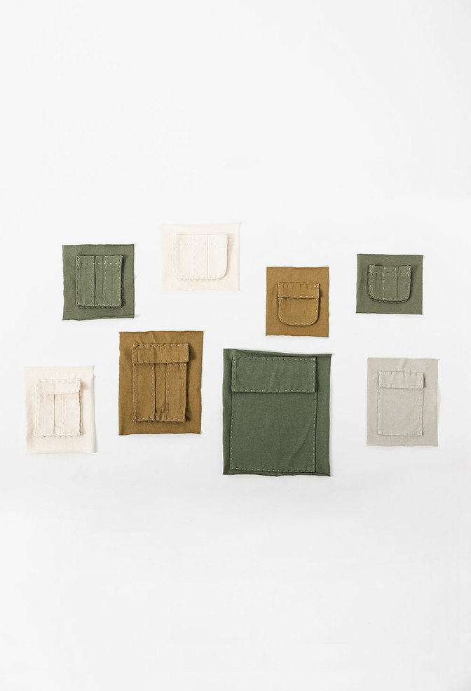 The school of making the pockets pattern 5