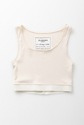 Alabama chanin soft knit tank 1