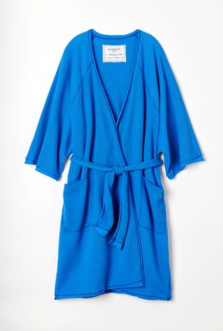 Alabama chanin organic cotton waffle bath robe 2