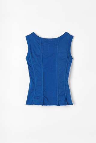 Alabama chanin organic cotton corset top 5