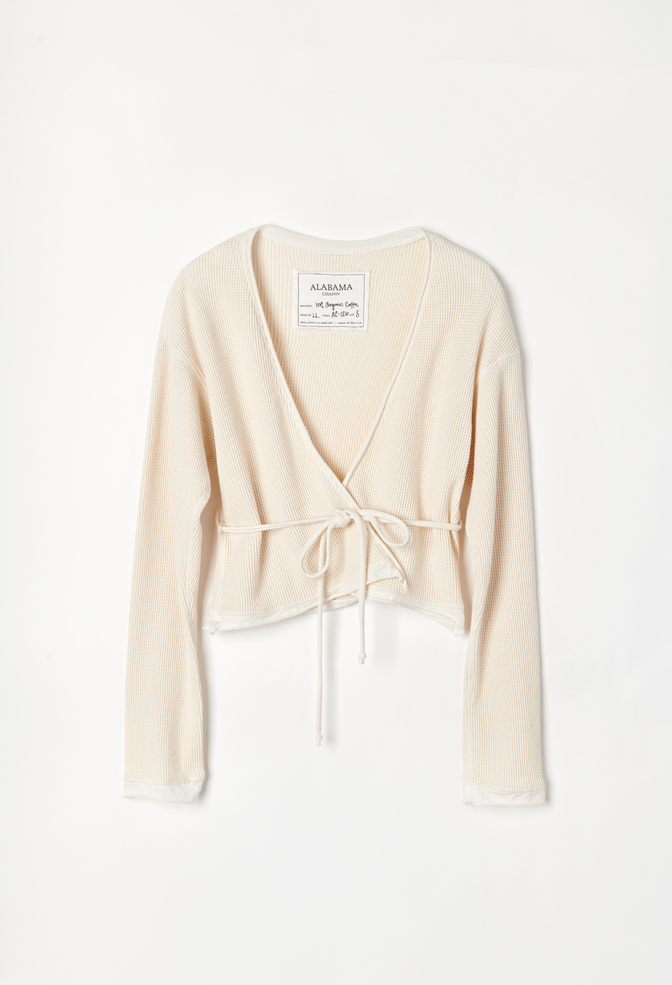 Fitted waffle cardigan   basic   natural  ac 126   april 2019   robert rausch0054