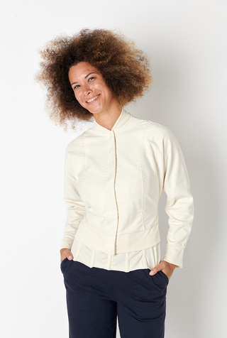 Alabama chanin french terry bomber jacket 2