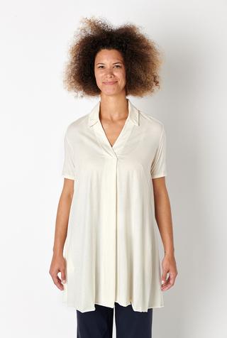 Alabama chanin flowy lightweight cotton tunic 1
