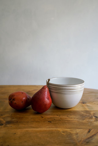 Heath ceramics alabama chanin birds nest etched deep serving bowl 1