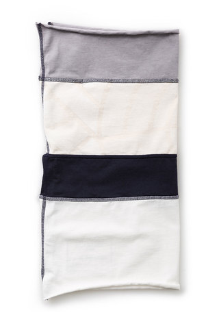 Alabama chanin organic cotton colorblock napkins 4