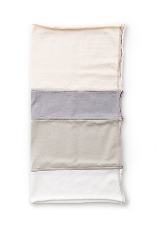 Alabama chanin organic cotton colorblock napkins 5