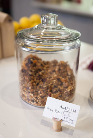 Alabama chanin house made granola the factory cafe 1