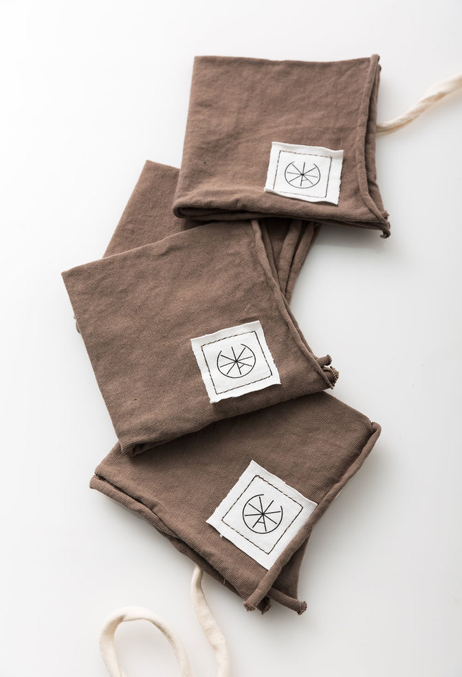 Alabama chanin organic cotton cocktail napkins 2