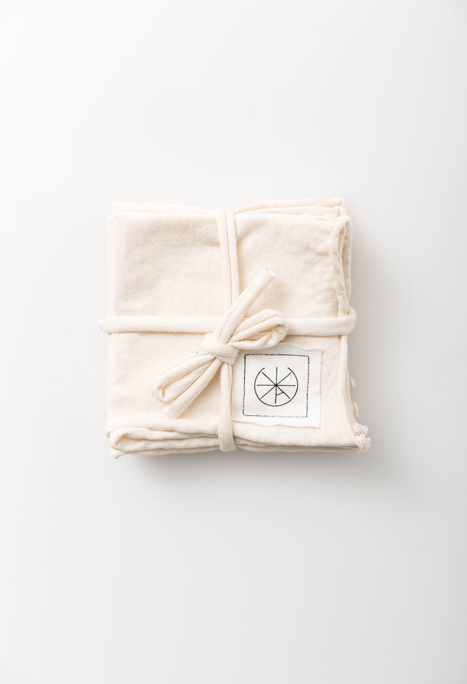 Alabama chanin organic cotton cocktail napkins 3