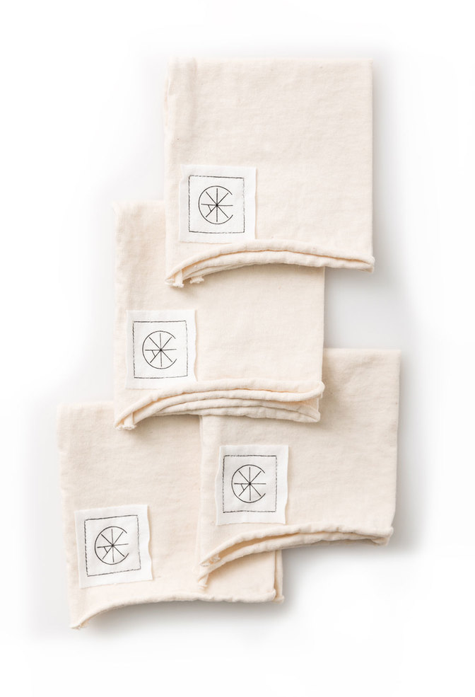 Alabama chanin organic cotton cocktail napkins 5