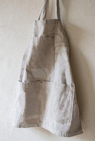 Alabama chanin patterned canvas tony apron 4