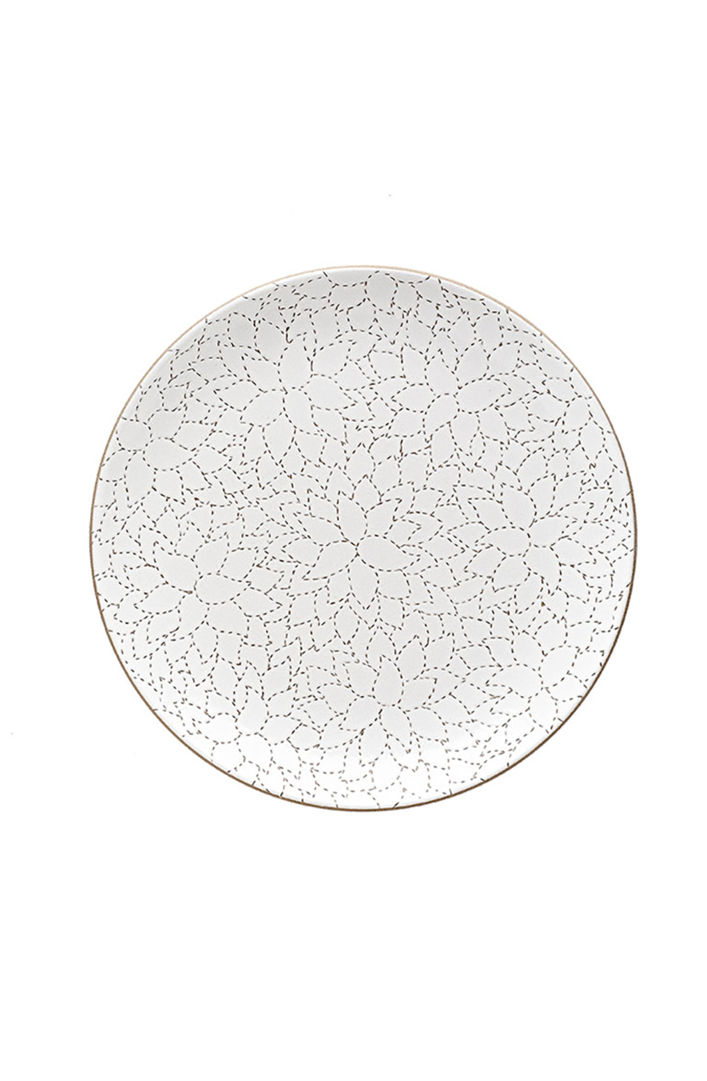 Heath ceramics alabama chanin camellia etched dinner plate2