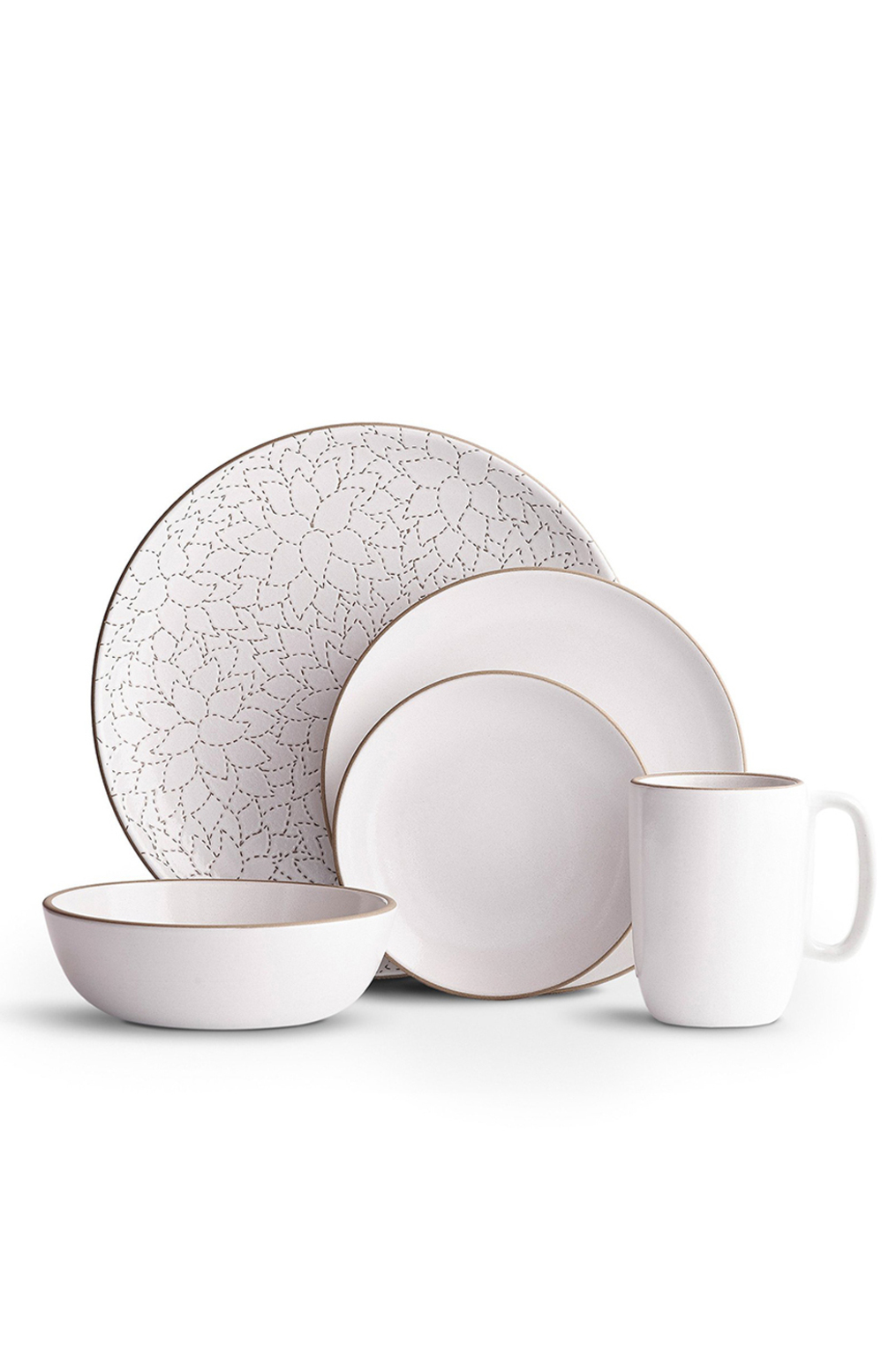Camellia opaque white dinnerware set   heath ac 104   heath ceramics