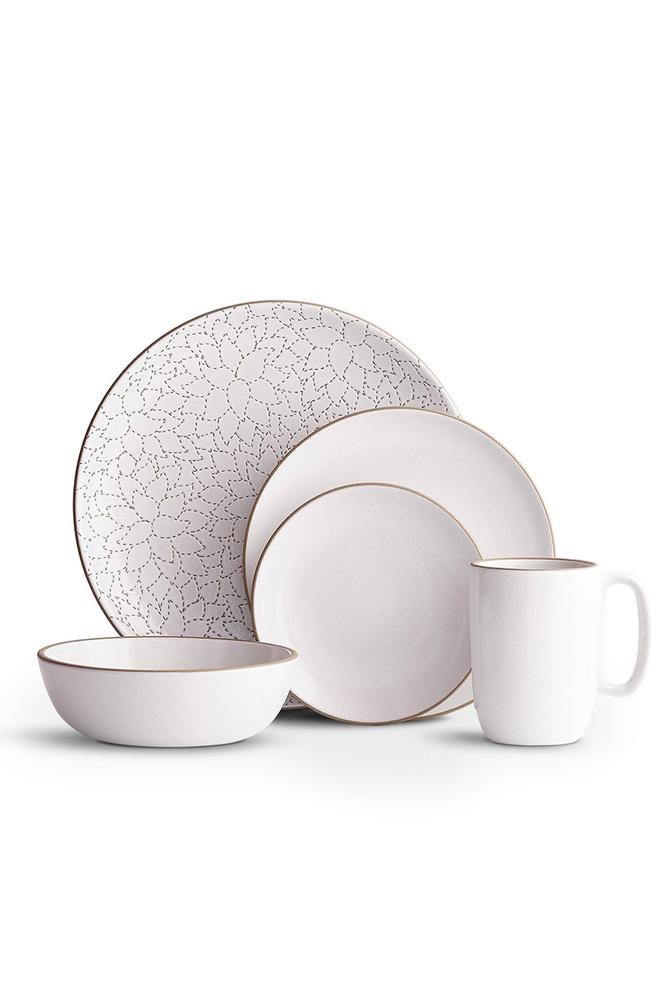 Camellia opaque white dinnerware set   heath ac 104   heath ceramics