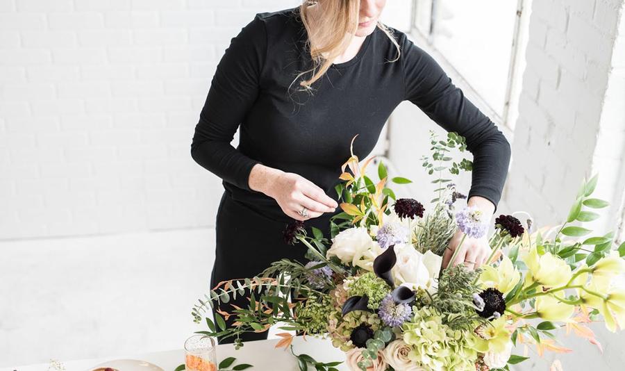 Alabama chanin hart floristry workshop