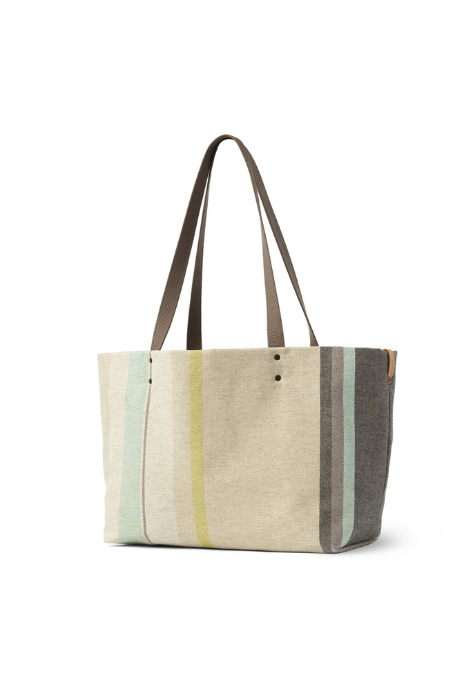 Alabama chanin heath ceramics reversible tote multi stripe 1