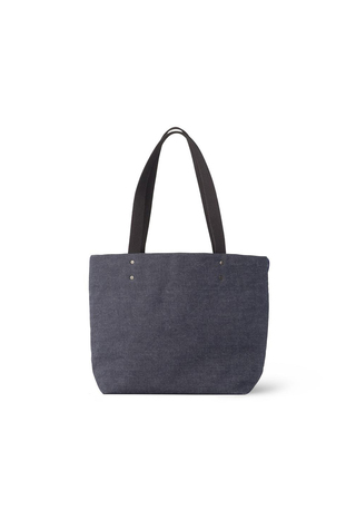 Reversible Tote in Indigo