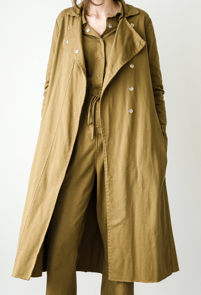 The school of making   asymmetrical trench pattern 2