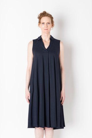 Alabama chanin relaxed lightweight cotton dress 3