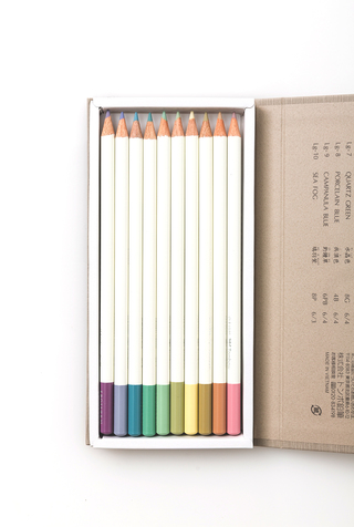 Notion   irojiten colored pencils   volume 6   light grayish tone i   october 2018   abraham rowe 2