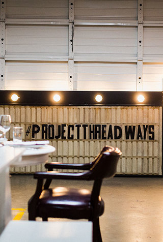 Project Threadways Dinner + Discussion @ The Factory