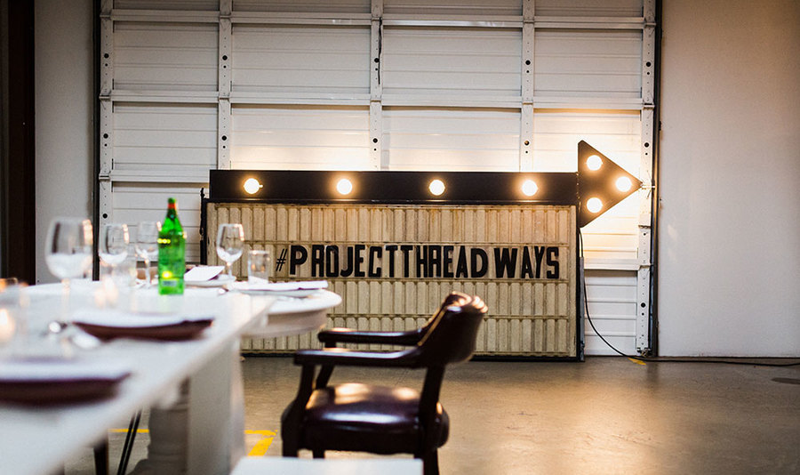 Event   dinner   friends of the cafe   project threadways   bill smith   the factory cafe   april 2019   abraham rowe 4