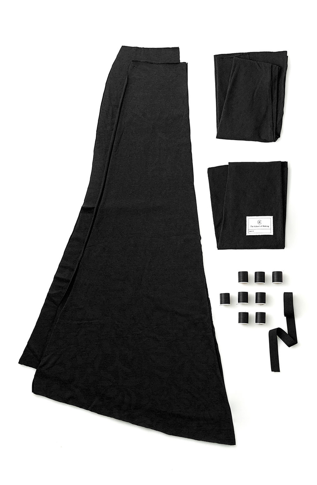 The school of making long fitted skirt diy sewing kit4