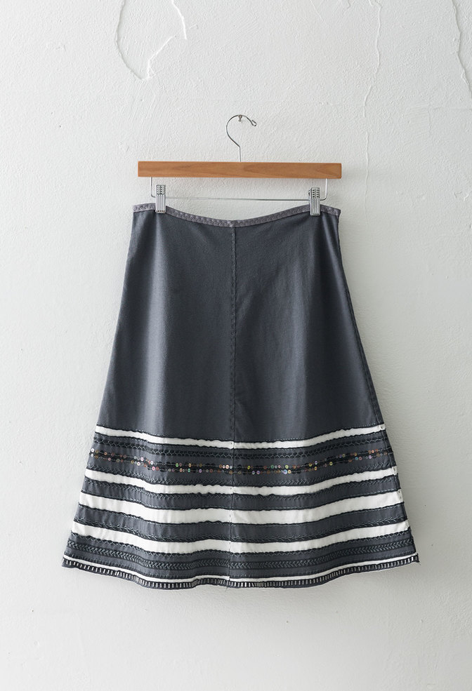 The school of making striped skirt diy kit
