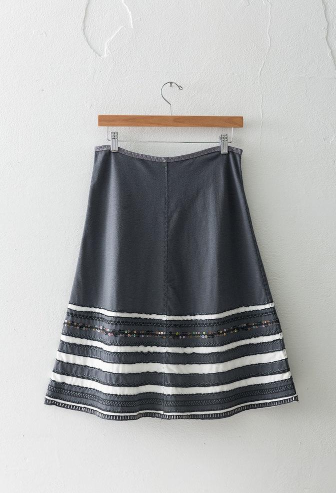 The school of making striped skirt diy kit