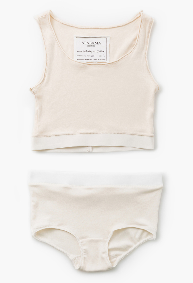 Alabama chanin soft knit crop tank 2