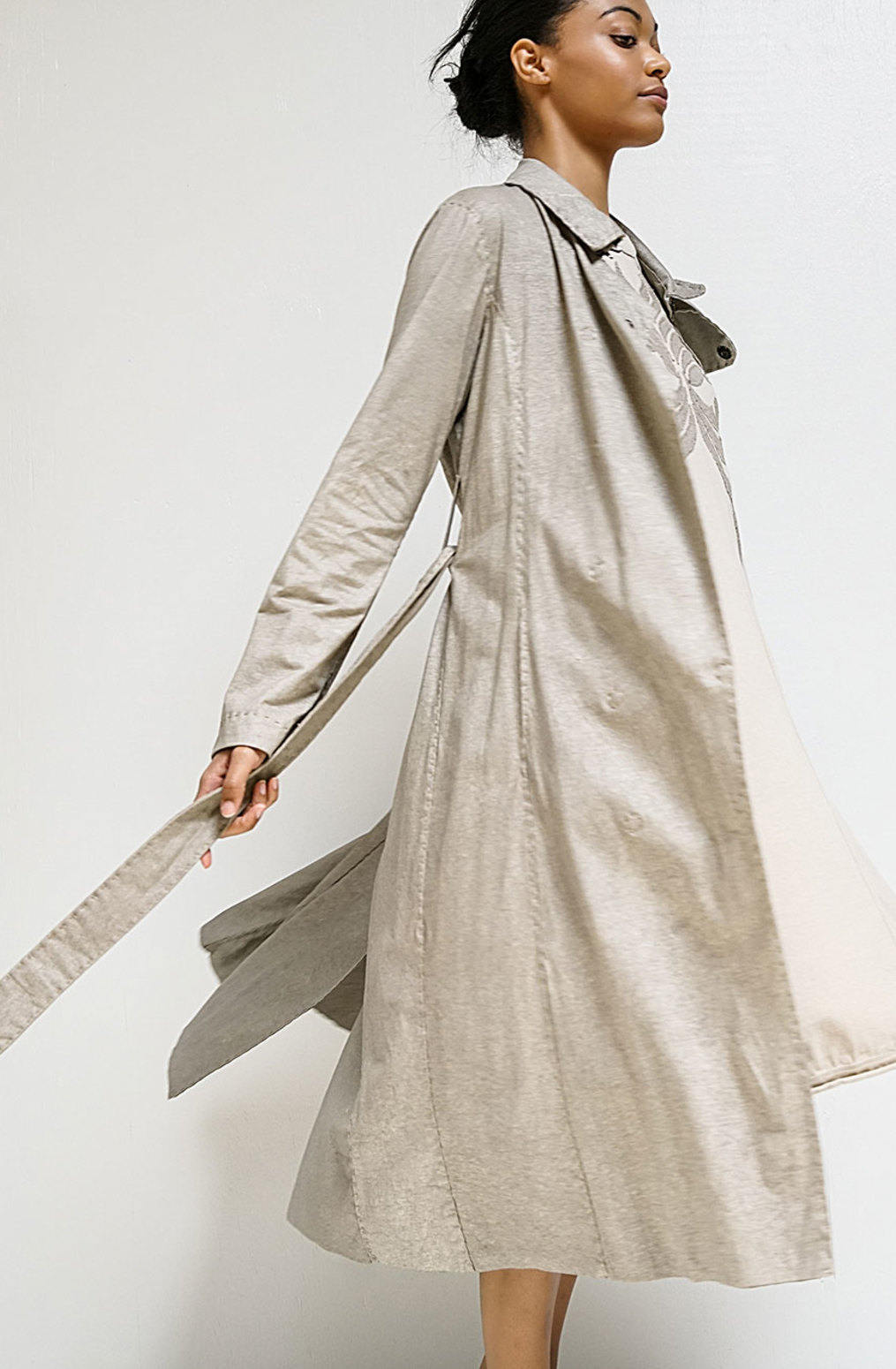 Alabama chanin the classic trench coat 5
