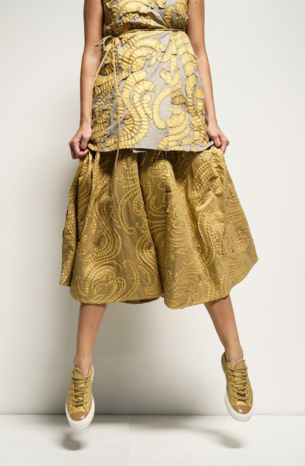 Alabama chanin the rory wrap dress tunic 2
