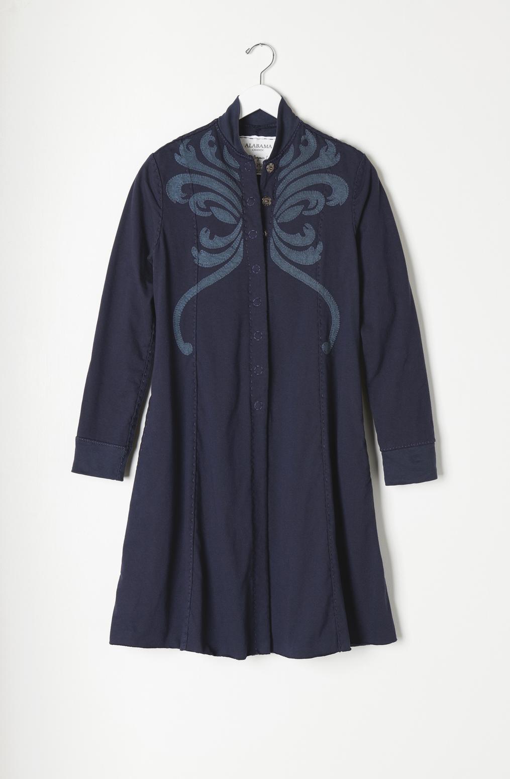 Panel jacket   violin   sapphire navy   a 935   august 2019   robert rausch38