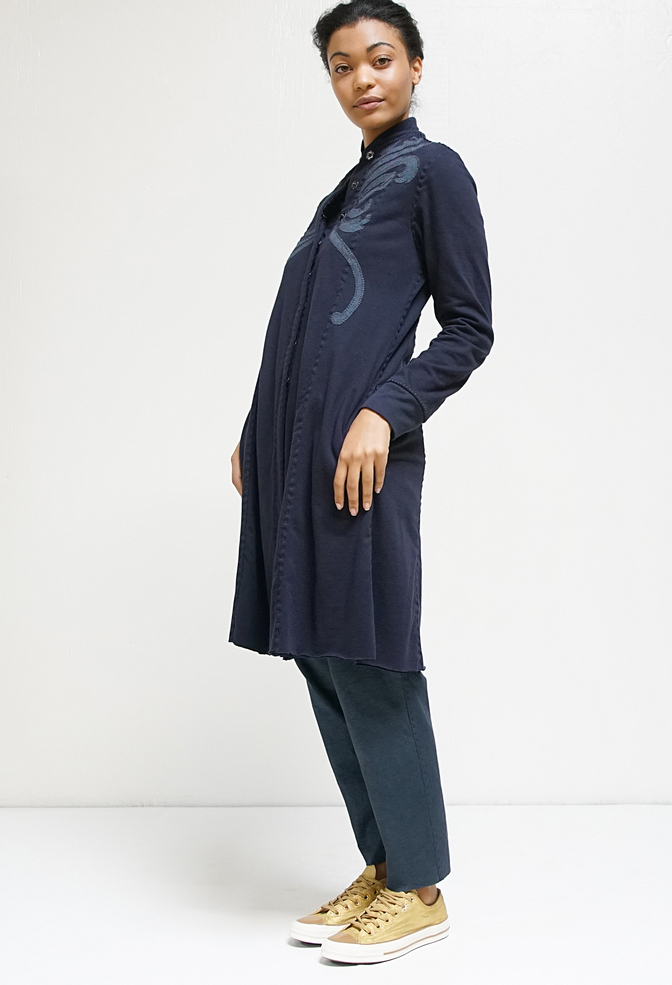 Panel jacket   violin   sapphire navy   styled   a 935 a 955   august 2019   rinne allen 13