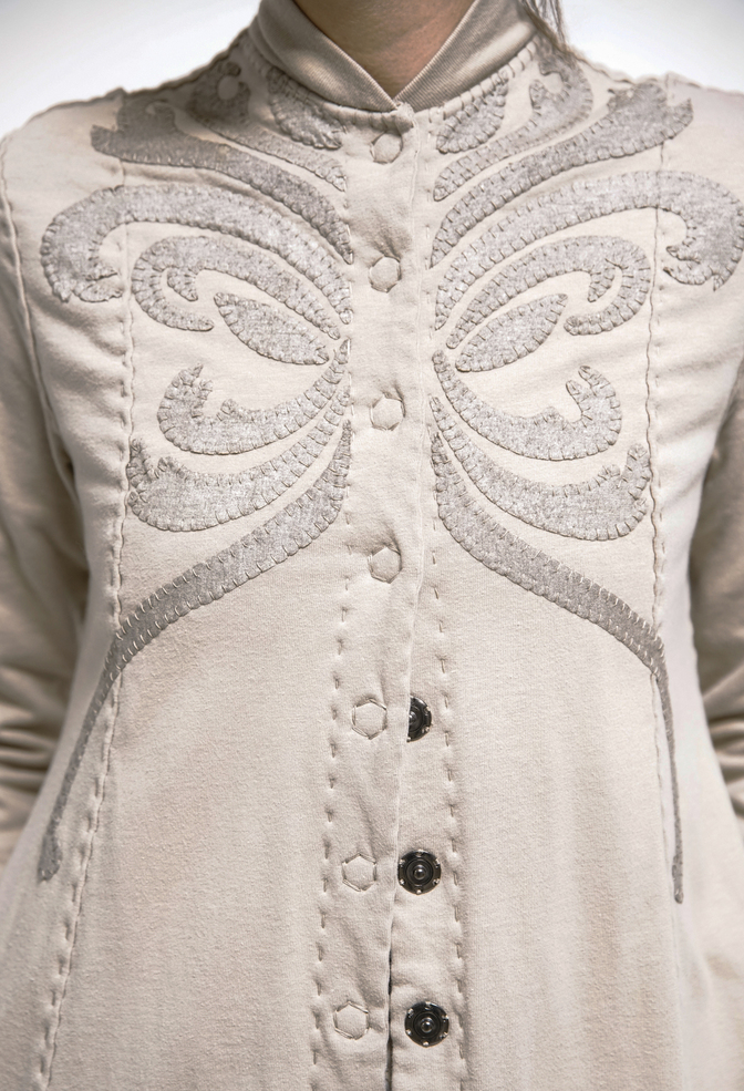 Panel jacket   violin   white gold wax   styled   a 935 a 947   august 2019   rinne allen 6