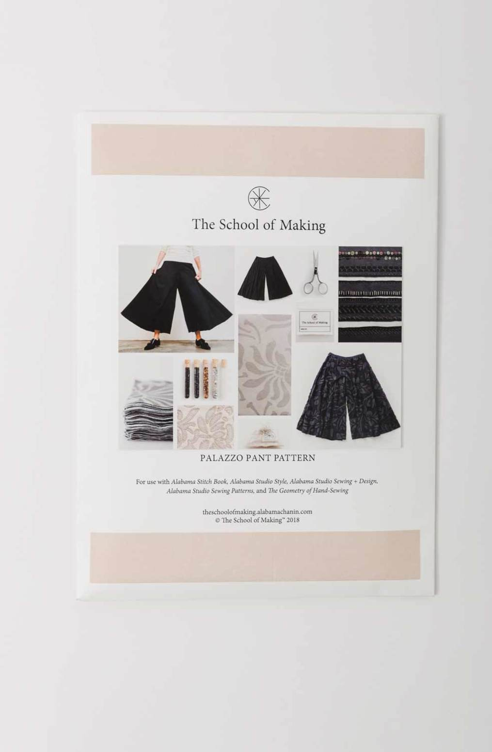 The school of making   build a wardrobe   palazzo pant pattern   september 2019   abraham rowe 13