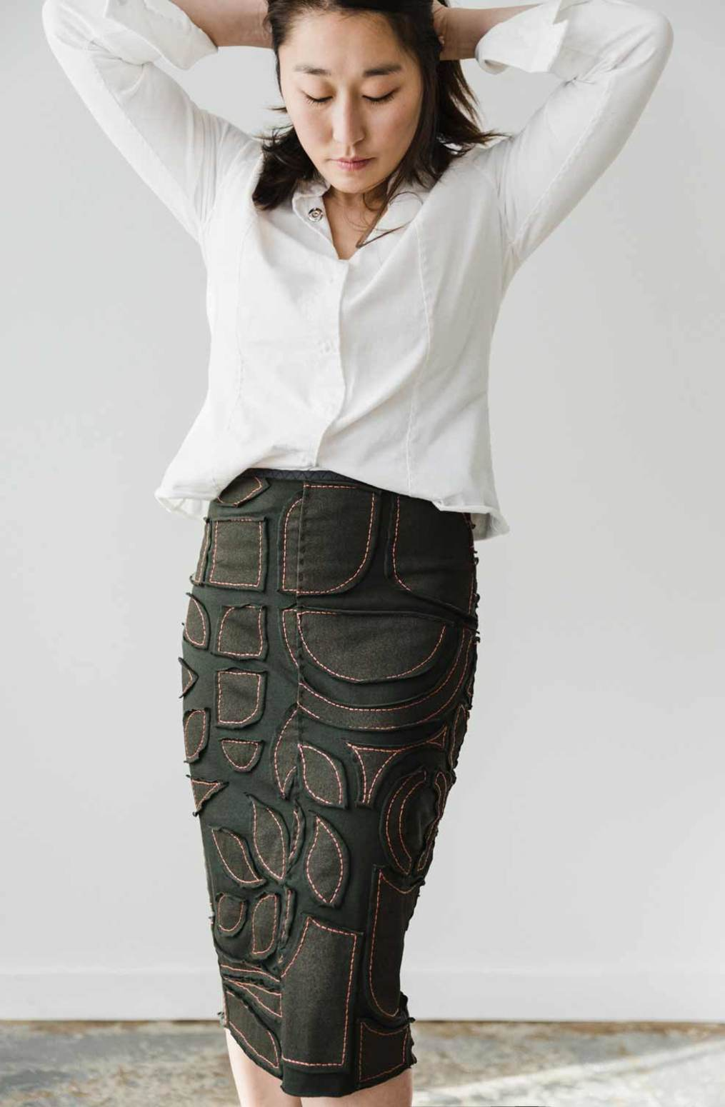 The school of making pencil skirt pattern 2